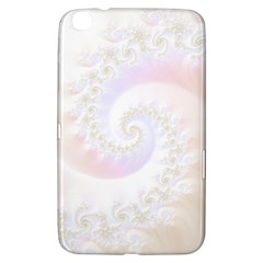 Mother Of Pearls Luxurious Fractal Spiral Necklace Samsung Galaxy Tab 3 (8 ) T3100 Hardshell Case  by jayaprime