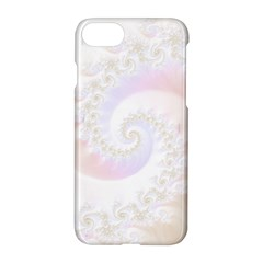 Mother Of Pearls Luxurious Fractal Spiral Necklace Apple Iphone 8 Hardshell Case