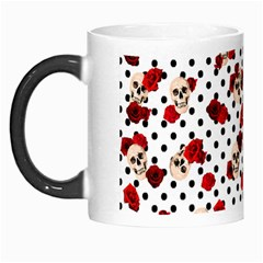 Skulls And Roses Morph Mugs by Valentinaart