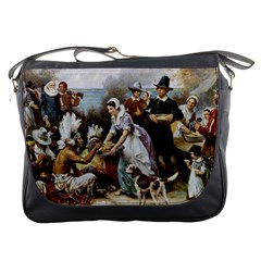 The First Thanksgiving Messenger Bags