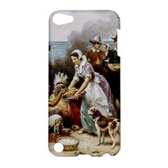 The First Thanksgiving Apple Ipod Touch 5 Hardshell Case by Valentinaart