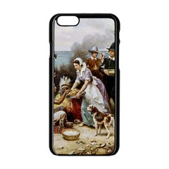The First Thanksgiving Apple Iphone 6/6s Black Enamel Case