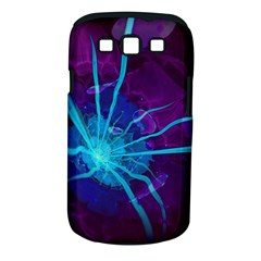 Beautiful Bioluminescent Sea Anemone Fractalflower Samsung Galaxy S Iii Classic Hardshell Case (pc+silicone) by jayaprime