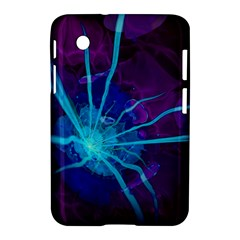 Beautiful Bioluminescent Sea Anemone Fractalflower Samsung Galaxy Tab 2 (7 ) P3100 Hardshell Case  by jayaprime