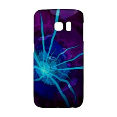Beautiful Bioluminescent Sea Anemone Fractalflower Galaxy S6 Edge by jayaprime