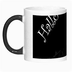 Castil Witch Hlloween Sinister Night Home Bats Morph Mugs by Alisyart