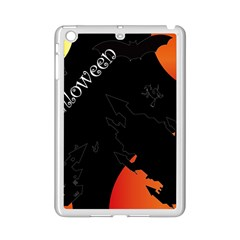 Castil Witch Hlloween Sinister Night Home Bats Ipad Mini 2 Enamel Coated Cases