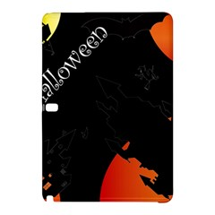 Castil Witch Hlloween Sinister Night Home Bats Samsung Galaxy Tab Pro 10 1 Hardshell Case