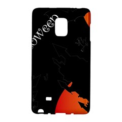Castil Witch Hlloween Sinister Night Home Bats Galaxy Note Edge by Alisyart
