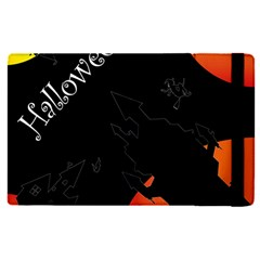 Castil Witch Hlloween Sinister Night Home Bats Apple Ipad Pro 9 7   Flip Case