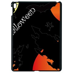 Castil Witch Hlloween Sinister Night Home Bats Apple Ipad Pro 9 7   Black Seamless Case