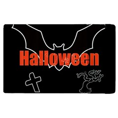 Halloween Bat Black Night Sinister Ghost Apple Ipad 2 Flip Case by Alisyart