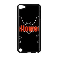 Halloween Bat Black Night Sinister Ghost Apple Ipod Touch 5 Case (black) by Alisyart