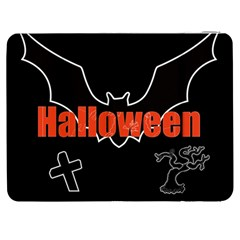 Halloween Bat Black Night Sinister Ghost Samsung Galaxy Tab 7  P1000 Flip Case