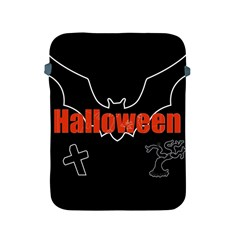Halloween Bat Black Night Sinister Ghost Apple Ipad 2/3/4 Protective Soft Cases by Alisyart