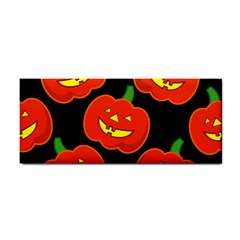 Halloween Party Pumpkins Face Smile Ghost Orange Black Cosmetic Storage Cases by Alisyart