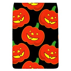 Halloween Party Pumpkins Face Smile Ghost Orange Black Flap Covers (s)  by Alisyart