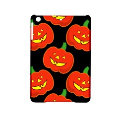 Halloween Party Pumpkins Face Smile Ghost Orange Black Ipad Mini 2 Hardshell Cases by Alisyart