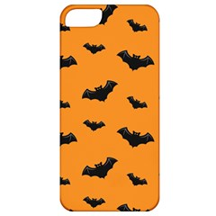 Halloween Bat Animals Night Orange Apple Iphone 5 Classic Hardshell Case