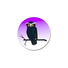 Halloween Owl Bird Animals Night Golf Ball Marker (10 Pack) by Alisyart