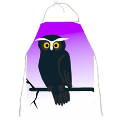 Halloween Owl Bird Animals Night Full Print Aprons