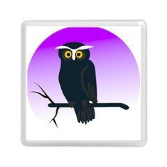 Halloween Owl Bird Animals Night Memory Card Reader (square)