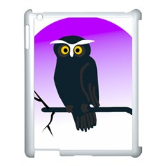 Halloween Owl Bird Animals Night Apple Ipad 3/4 Case (white)