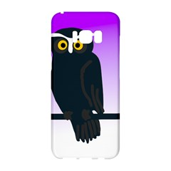Halloween Owl Bird Animals Night Samsung Galaxy S8 Hardshell Case  by Alisyart