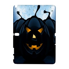 Halloween Pumpkin Dark Face Mask Smile Ghost Night Galaxy Note 1