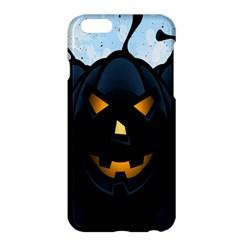 Halloween Pumpkin Dark Face Mask Smile Ghost Night Apple Iphone 6 Plus/6s Plus Hardshell Case by Alisyart