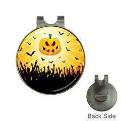 Halloween Pumpkin Bat Party Night Ghost Hat Clips With Golf Markers