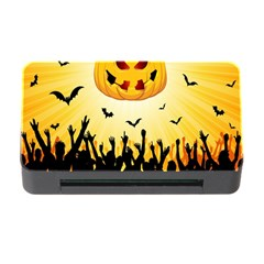 Halloween Pumpkin Bat Party Night Ghost Memory Card Reader With Cf