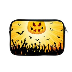Halloween Pumpkin Bat Party Night Ghost Apple Macbook Pro 13  Zipper Case