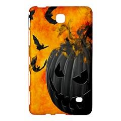 Halloween Pumpkin Bat Ghost Orange Black Smile Samsung Galaxy Tab 4 (8 ) Hardshell Case  by Alisyart