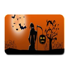Halloween Sinister Night Moon Bats Plate Mats