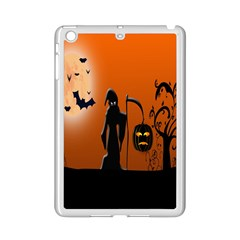 Halloween Sinister Night Moon Bats Ipad Mini 2 Enamel Coated Cases