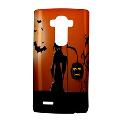 Halloween Sinister Night Moon Bats Lg G4 Hardshell Case by Alisyart