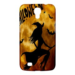 Halloween Wicked Witch Bat Moon Night Samsung Galaxy Mega 6 3  I9200 Hardshell Case by Alisyart