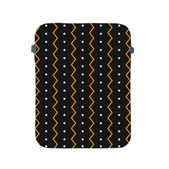 Halloween Zigzag Vintage Chevron Ornamental Cute Polka Dots Apple Ipad 2/3/4 Protective Soft Cases
