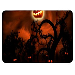 Halloween Pumpkins Tree Night Black Eye Jungle Moon Samsung Galaxy Tab 7  P1000 Flip Case