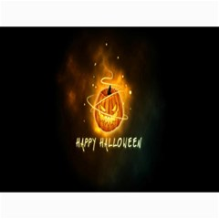 Happy Halloween Pumpkins Face Smile Face Ghost Night Canvas 18  X 24   by Alisyart
