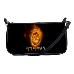 Happy Halloween Pumpkins Face Smile Face Ghost Night Shoulder Clutch Bags