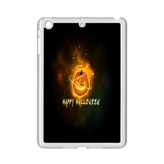 Happy Halloween Pumpkins Face Smile Face Ghost Night Ipad Mini 2 Enamel Coated Cases