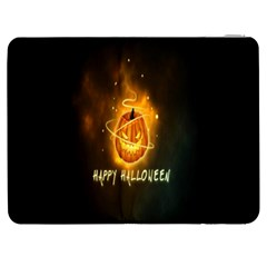 Happy Halloween Pumpkins Face Smile Face Ghost Night Samsung Galaxy Tab 7  P1000 Flip Case