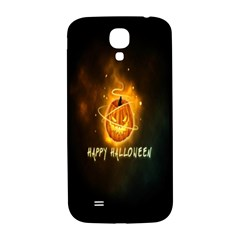 Happy Halloween Pumpkins Face Smile Face Ghost Night Samsung Galaxy S4 I9500/i9505  Hardshell Back Case by Alisyart