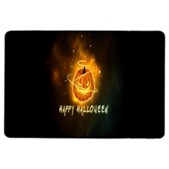 Happy Halloween Pumpkins Face Smile Face Ghost Night Ipad Air 2 Flip by Alisyart