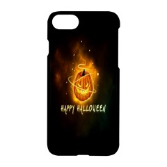Happy Halloween Pumpkins Face Smile Face Ghost Night Apple Iphone 8 Hardshell Case by Alisyart