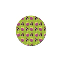 Hat Formula Purple Green Polka Dots Golf Ball Marker (10 Pack) by Alisyart