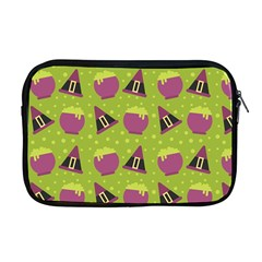 Hat Formula Purple Green Polka Dots Apple Macbook Pro 17  Zipper Case by Alisyart