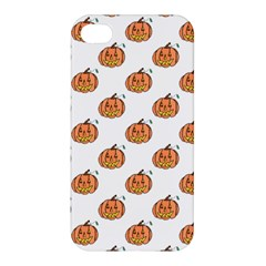 Face Mask Ghost Halloween Pumpkin Pattern Apple Iphone 4/4s Hardshell Case